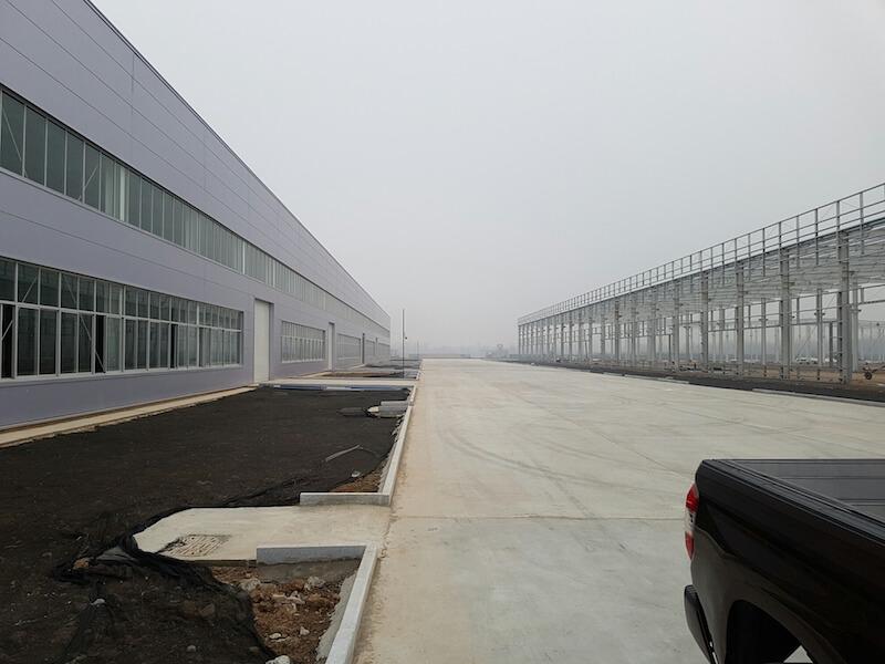 In der Nähe von Beijing (Peking) realisiert DHZ Fitness einen Neuubau
