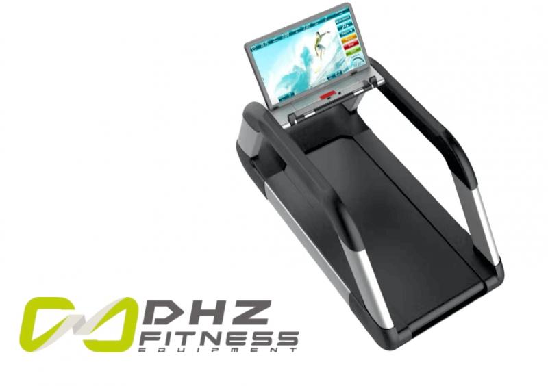 """DHZ Fitness Laufband mit 32"""" Display für 2017"""