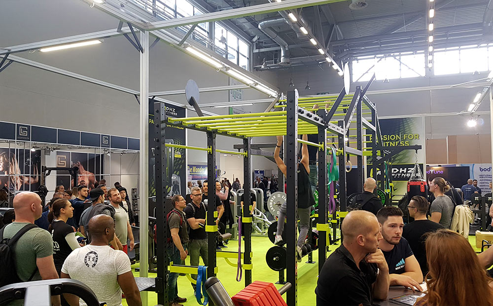 Great success at FIBO in Cologne - DHZ Fitness