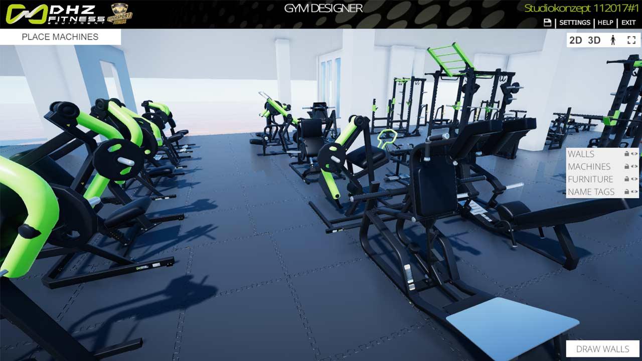 3d Gymdesigner Dhz Fitness
