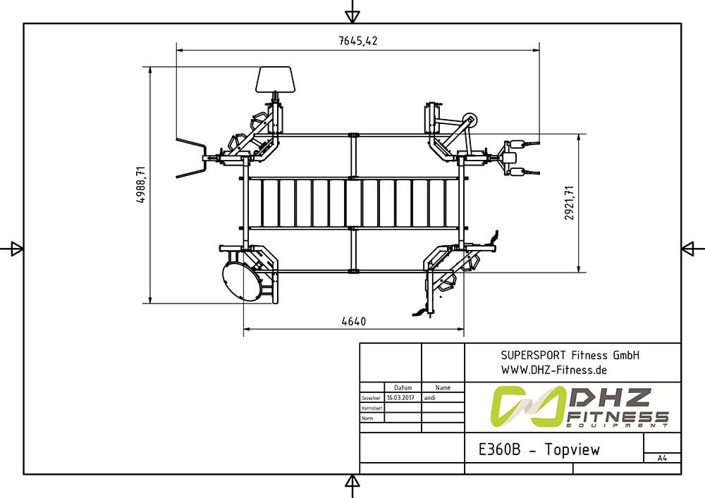 E360B topview 1