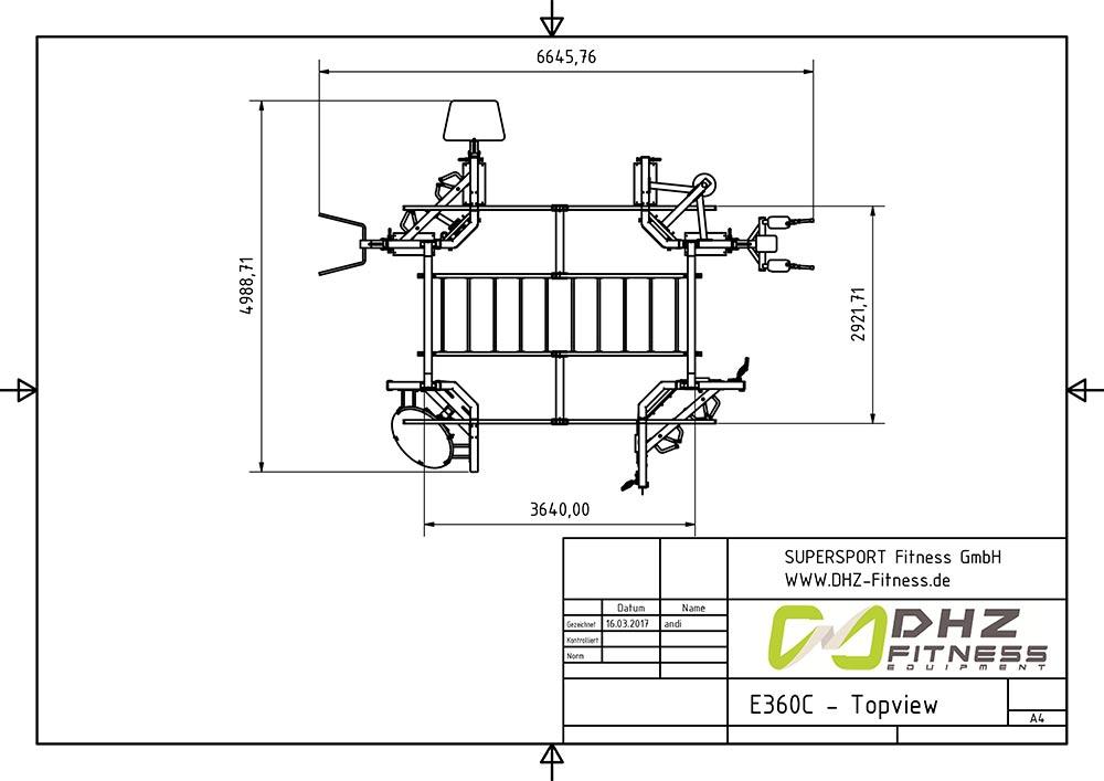 E360C topview