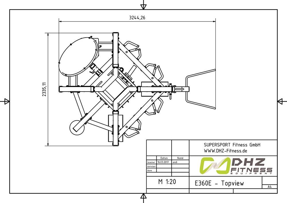 E360E topview