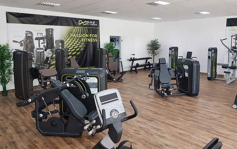 DHZ Fitness Showroom 6 1