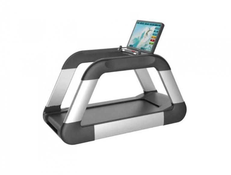 DHZ Fitness stellt Laufband mit 32 Zoll-Display vor