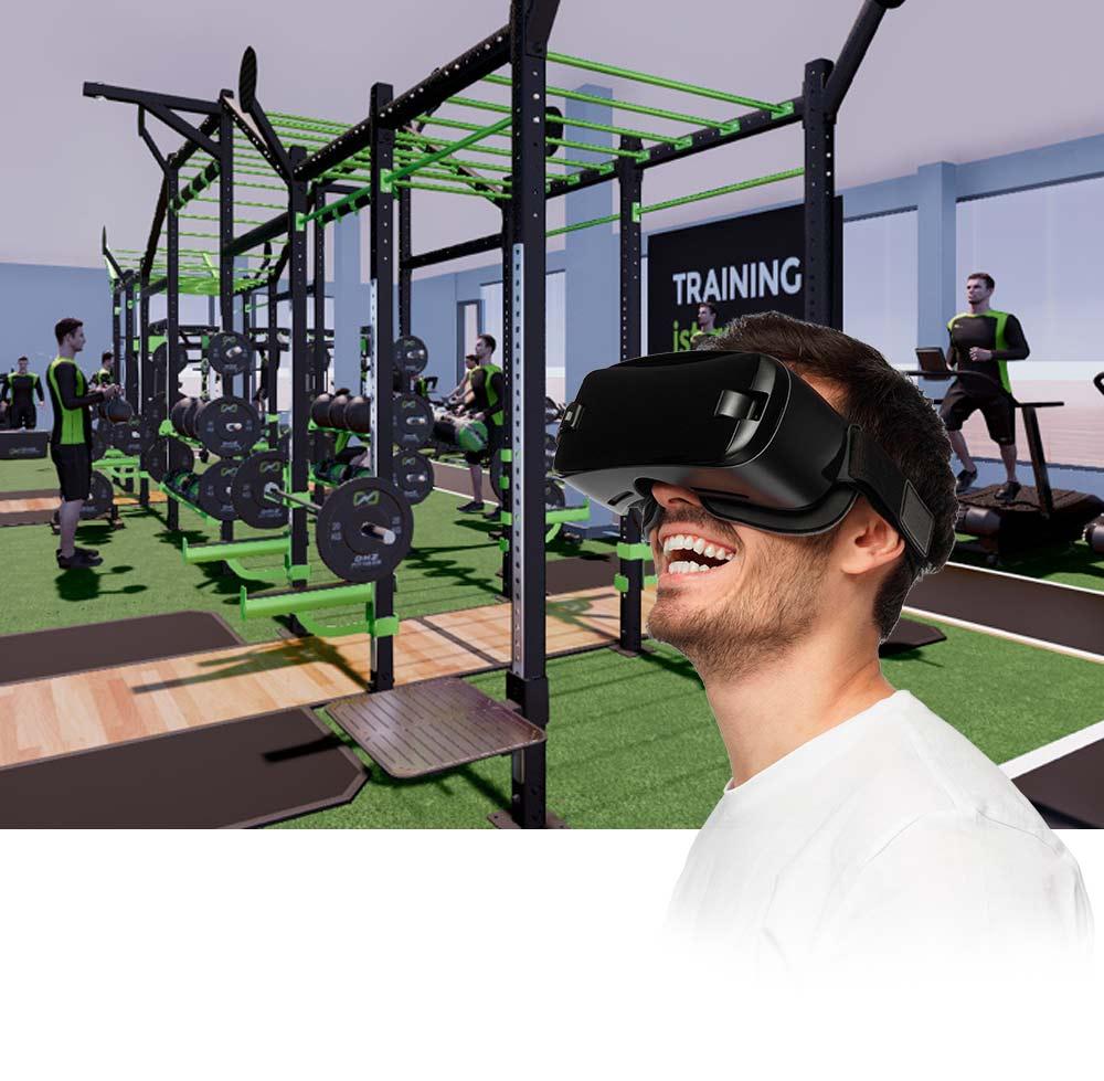 DHZ Fitness Gymdesigner VR