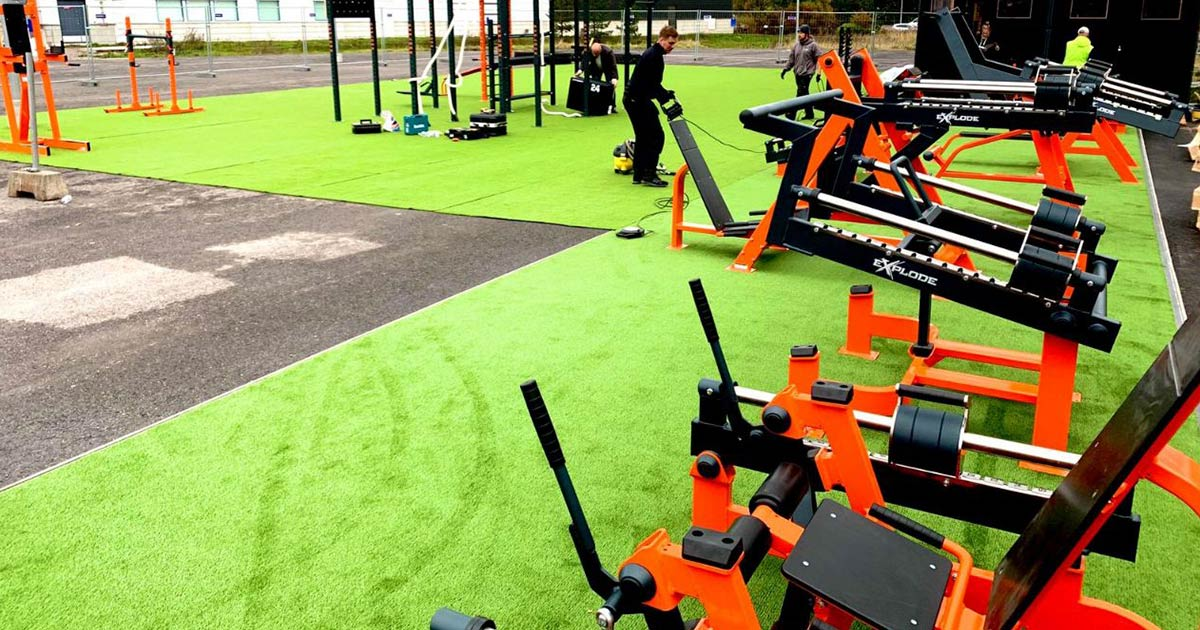 DHZ Fitness Outdoor Fitness 10