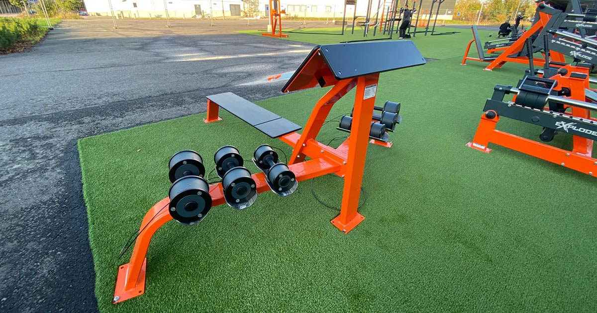 DHZ Fitness Outdoor Fitness 11