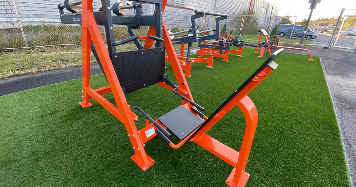 DHZ Fitness Outdoor Fitness 12
