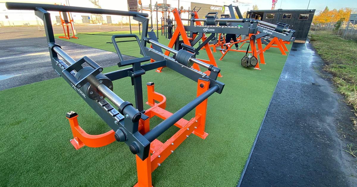 DHZ Fitness Outdoor Fitness 15
