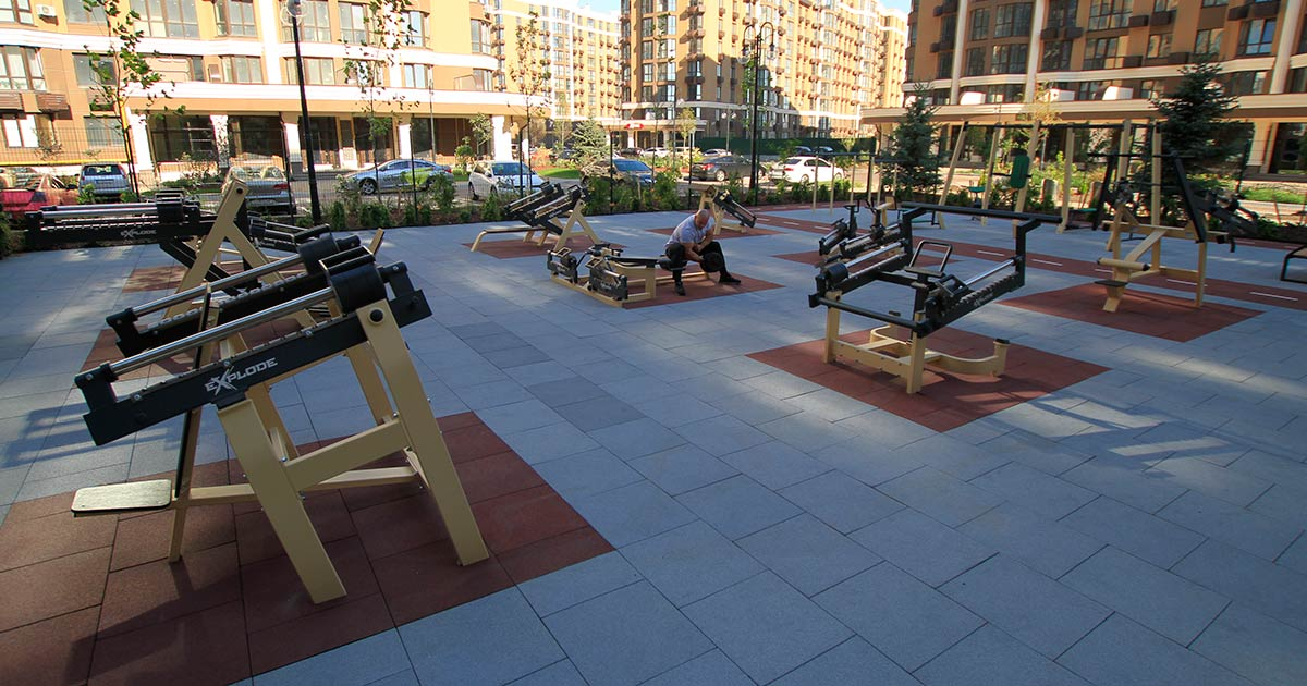 DHZ Fitness Outdoor Fitness 7