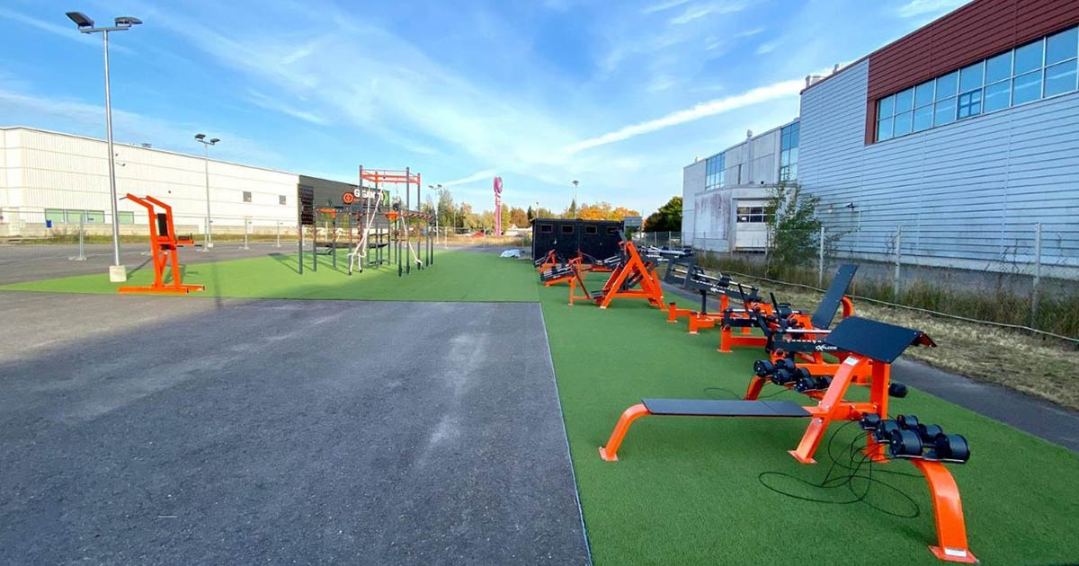DHZ Fitness Outdoor Fitness 9