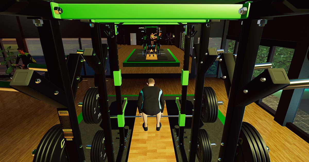 DHZ Power Rack in Aktion